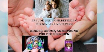 Kinder - Aroma Anwendung für die Füßchen