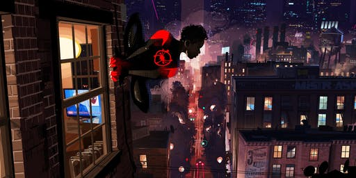 FAMILY FILM CLUB- SPIDER MAN : INTO THE SPIDER-VERSE(SUBTITLED)+ PERFORMANCE BY SIGNKID (SIGNED)