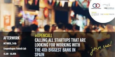Calling all startups that want to work with the 4th Bank in Spain, join us!
