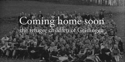 "Film screening of ""Coming Home Soon - The Refugee Children of Geislingen"""