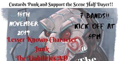 Custard Punk and Support the Scene half dayer
