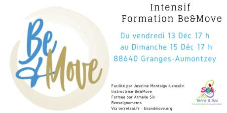 INTENSIF FORMATION BE&MOVE billets
