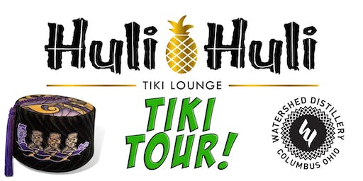 October Tiki Tour, with Watershed Distillery