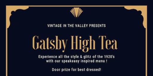 Gatsby Vintage High Tea