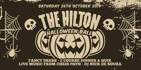 Hilton Halloween Ball - Dinner // Quiz // Live Music // DJ // Fancy Dress tickets