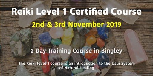 Reiki Level 1 Certified Course