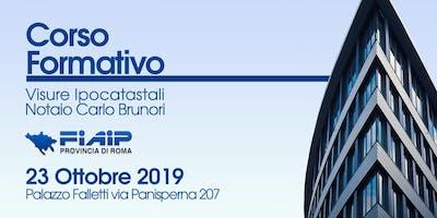 FIAIP ROMA - EVENTO FORMATIVO GRATUITO 23 OTTOBRE 2019