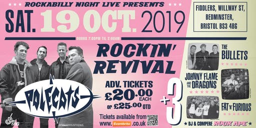 The Rockin' Revival - Polecats plus 3