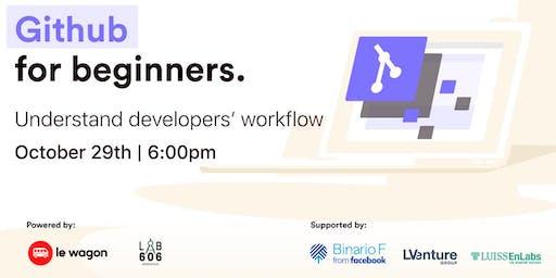 Workshop - Git and GitHub for Beginners
