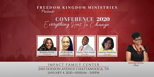 "Freedom Conference 2020   ""Everything has to change"""