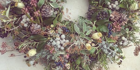 Christmas Wreath Workshop Party Evening tickets