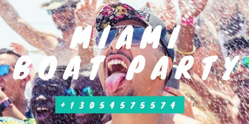 #Booze Cruise  Miami Party Boat Drinks included