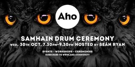 Samhain Drum Ceremony Hosted by Seán Ryan tickets