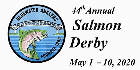 2020 Bluewater Anglers Salmon Derby tickets