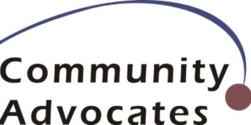 Community Advocates Self-Advocacy  2 Days Training