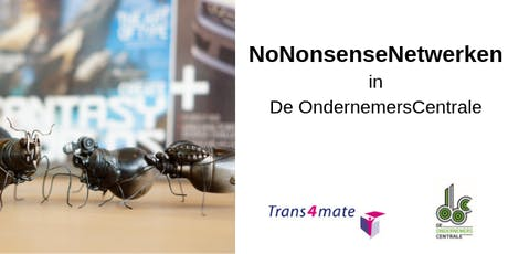 No Nonsense Netwerken tickets