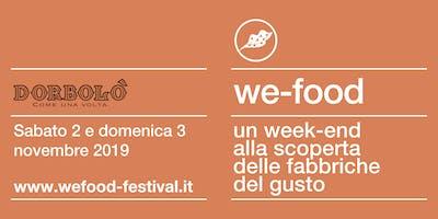 We-Food 2019 @ Dorbolò Gubane