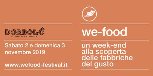 We-Food 2019 @ Dorbolò Gubane
