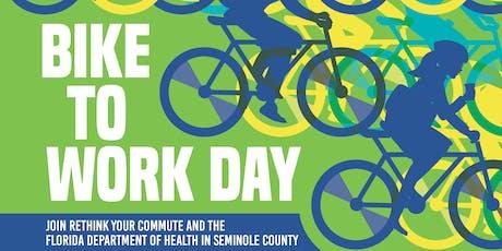 Bike to Work Day - Sanford SunRail Station tickets