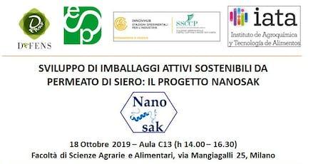 Meeting finale Progetto NANOSAK biglietti