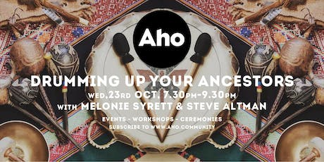 Drumming up your Ancestors with Melonie Syrett & Steve Altman tickets