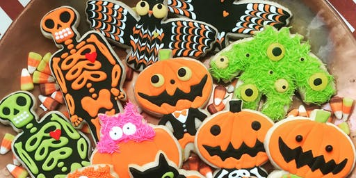 Halloween Cookie Decorating Spooktacular for Kids and Adults