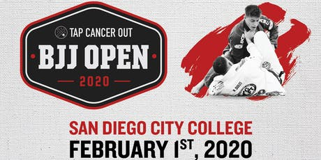Tap Cancer Out 2020 San Diego BJJ Open - Coach and Spectator Tickets tickets