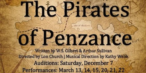 Auditions for The Pirates of Penzance