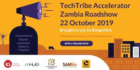 TechTribe Accelerator Zambia Roadshow tickets