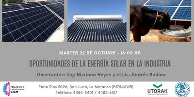 OPORTUNIDADES DE LA ENERGIA SOLAR EN LA INDUSTRIA