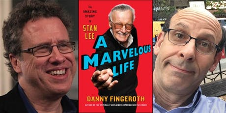 Danny Fingeroth presents A Marvelous Life: The Amazing Story of Stan Lee tickets