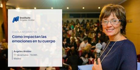 Conferencia gratuita con Ángeles Wolder en Madrid entradas