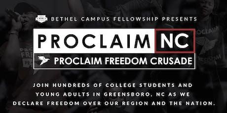 Proclaim Freedom! tickets