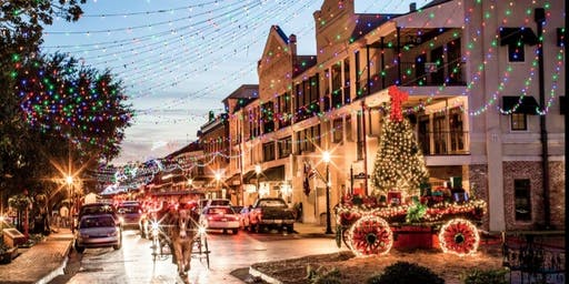 Natchitoches Christmas Bus Trip