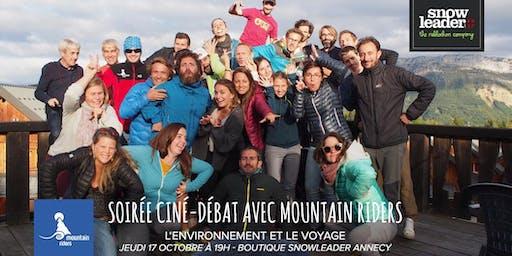 Soirée ciné-débat avec l'association Mountain Riders - Snowleader Annecy