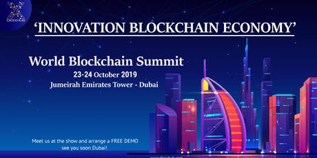 "Meet ""DigiXHub"" at World Blockchain Summit 