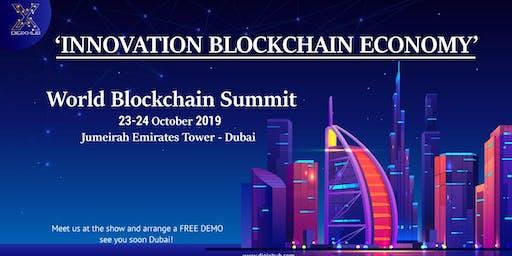"""Meet """"DigiXHub"""" at World Blockchain Summit   2019"""