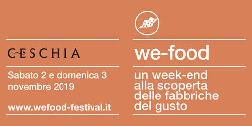 We-Food 2019 @ Distilleria Ceschia