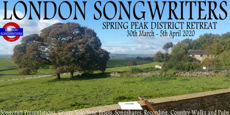 Spring Into Your Songwriting! - 2020 Peak District Retreat tickets