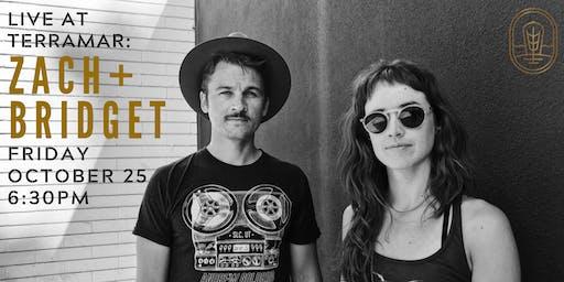 "Americana/Folk Duo ""Zach+Bridget"" West Coast Tour"