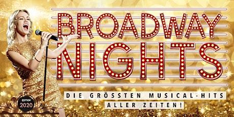 BROADWAY NIGHTS - Die größten Musical-Hits aller Zeiten   Saarlouis Tickets