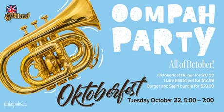 Oktoberfest at the Duke of Devon tickets