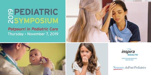 2019 Pediatric Symposium: Potpourri in Pediatric Care