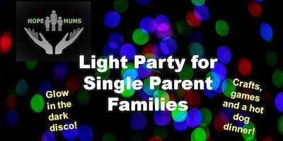 Light Party for Single Parent Families