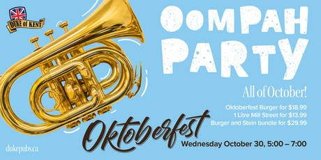 Oktoberfest at the Duke of Kent tickets