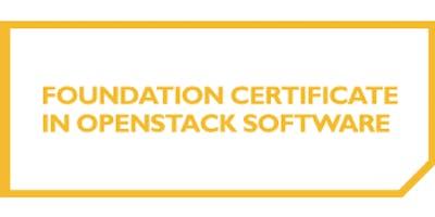 Foundation Certificate In OpenStack Software 3 Days Training in Utrecht