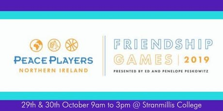 PeacePlayers NI Friendship Games - Round 2!!!! tickets