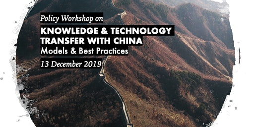 Knowledge & Technology Transfer with China: Models & Best Practices