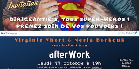 Afterwork Qualité de vie du dirigeant(e) billets