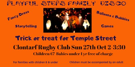 Playful Steps Halloween Disco: Trick or Treat for Temple Street tickets